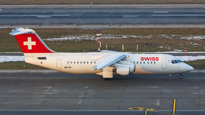 HB-IXP - Swiss British Aerospace BAe 146-300/Avro RJ100