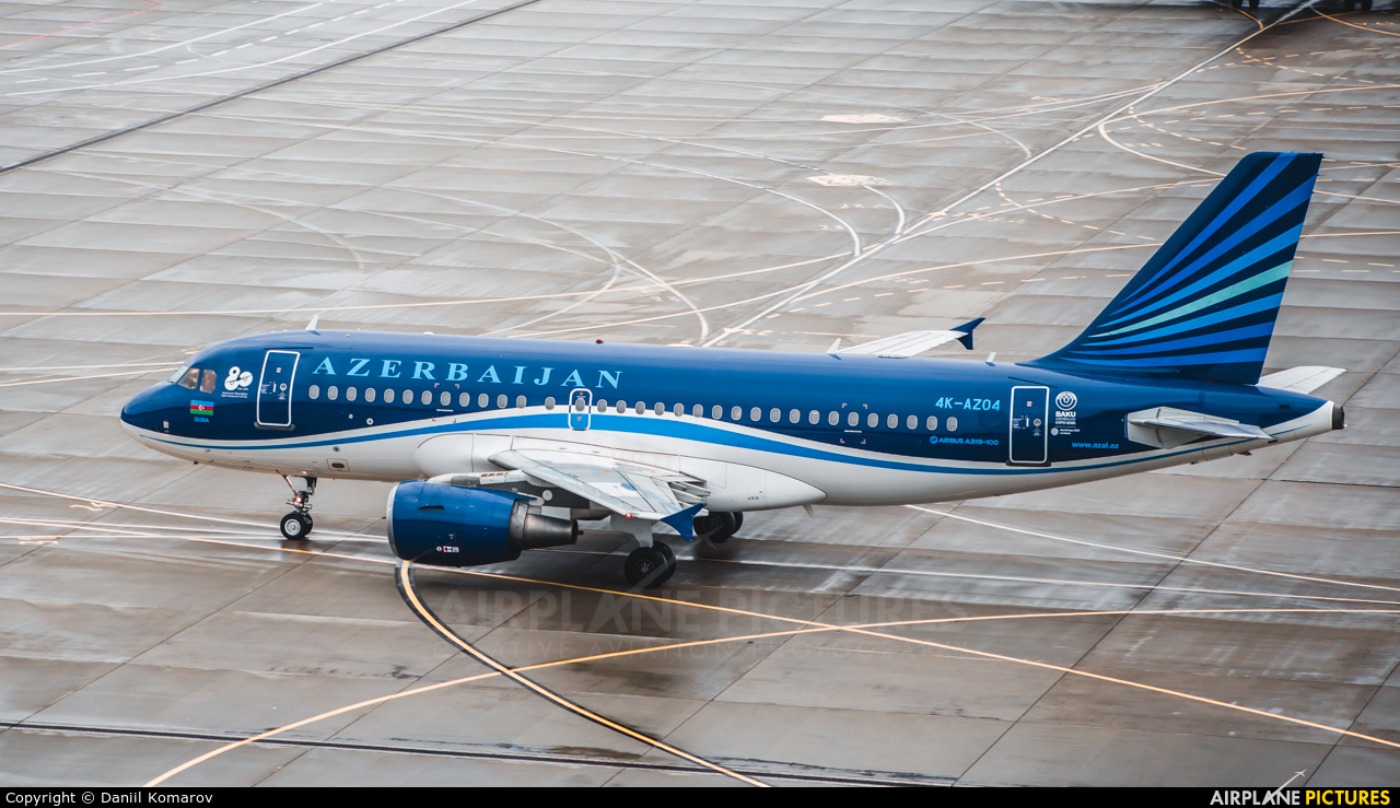 Azerbaijan Airlines 4K-AZ04 aircraft at Moscow - Vnukovo