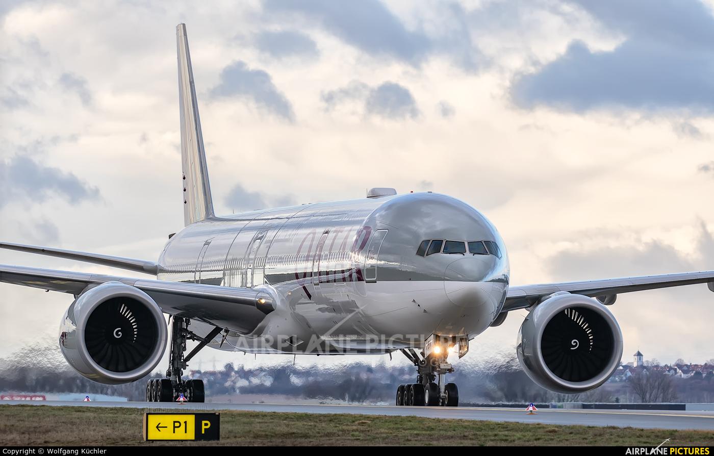 Qatar Airways A7-BEN aircraft at Frankfurt