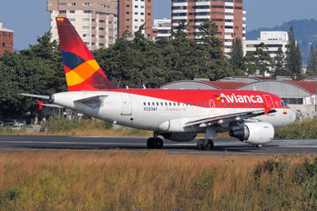 N589AV - Avianca Airbus A318