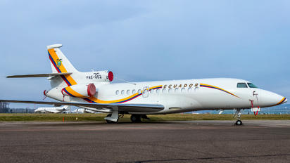 FAE-052 - Ecuador - Air Force Dassault Falcon 7X