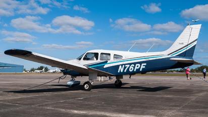 N76PF - Private Piper PA-28-161 Cherokee Warrior II