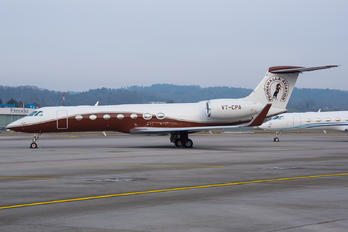 VT-CPA - Poonawalla Aviation Gulfstream Aerospace G-V, G-V-SP, G500, G550