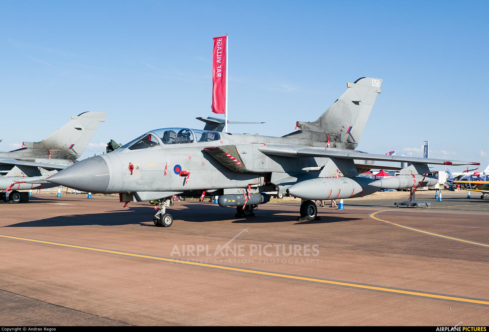 Royal Air Force ZA588 aircraft at Fairford