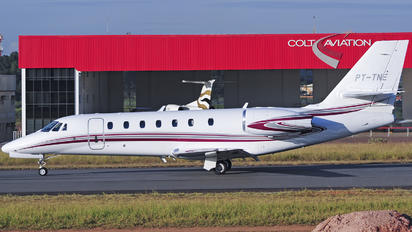 PT-TNE - Private Cessna 680 Sovereign