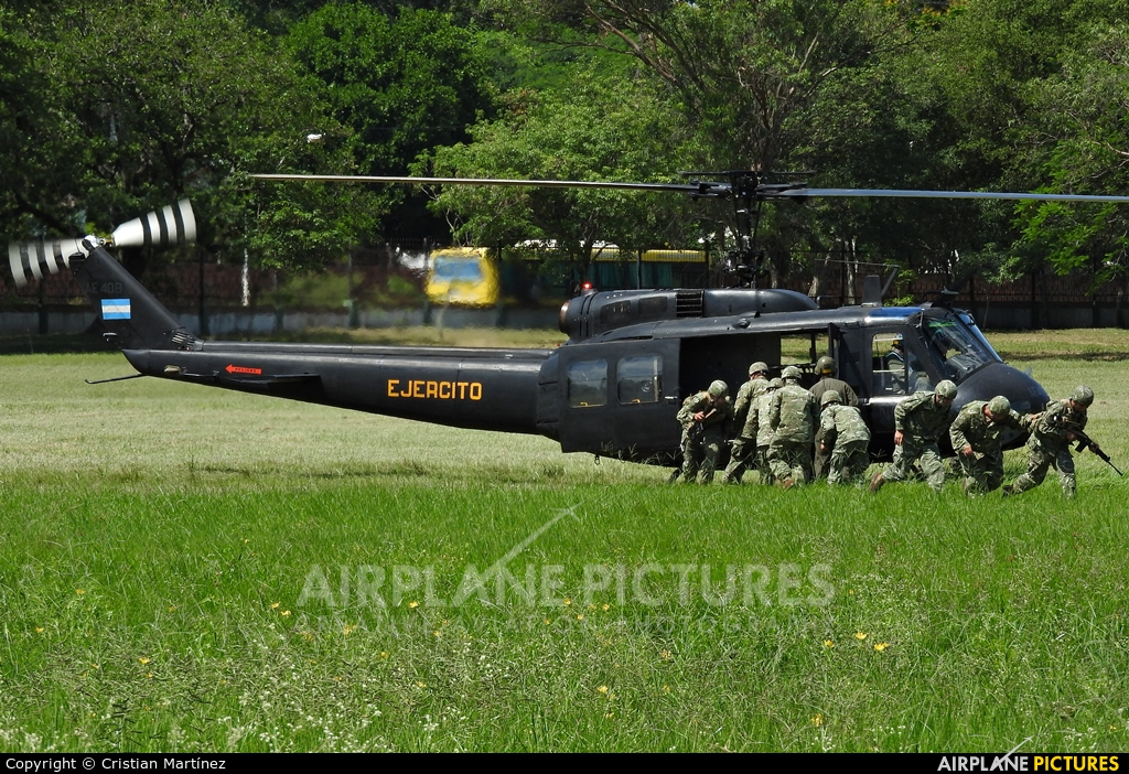 Argentina - Army AE-408 aircraft at Formosa Intl
