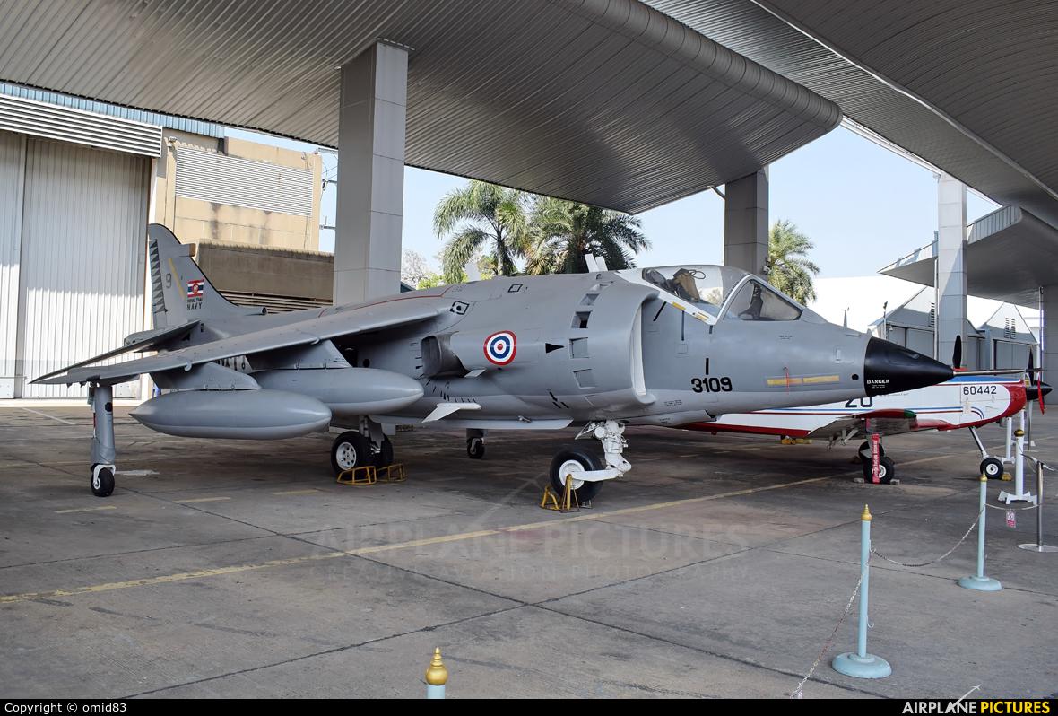 Thailand - Navy  3109 aircraft at Bangkok - Don Muang