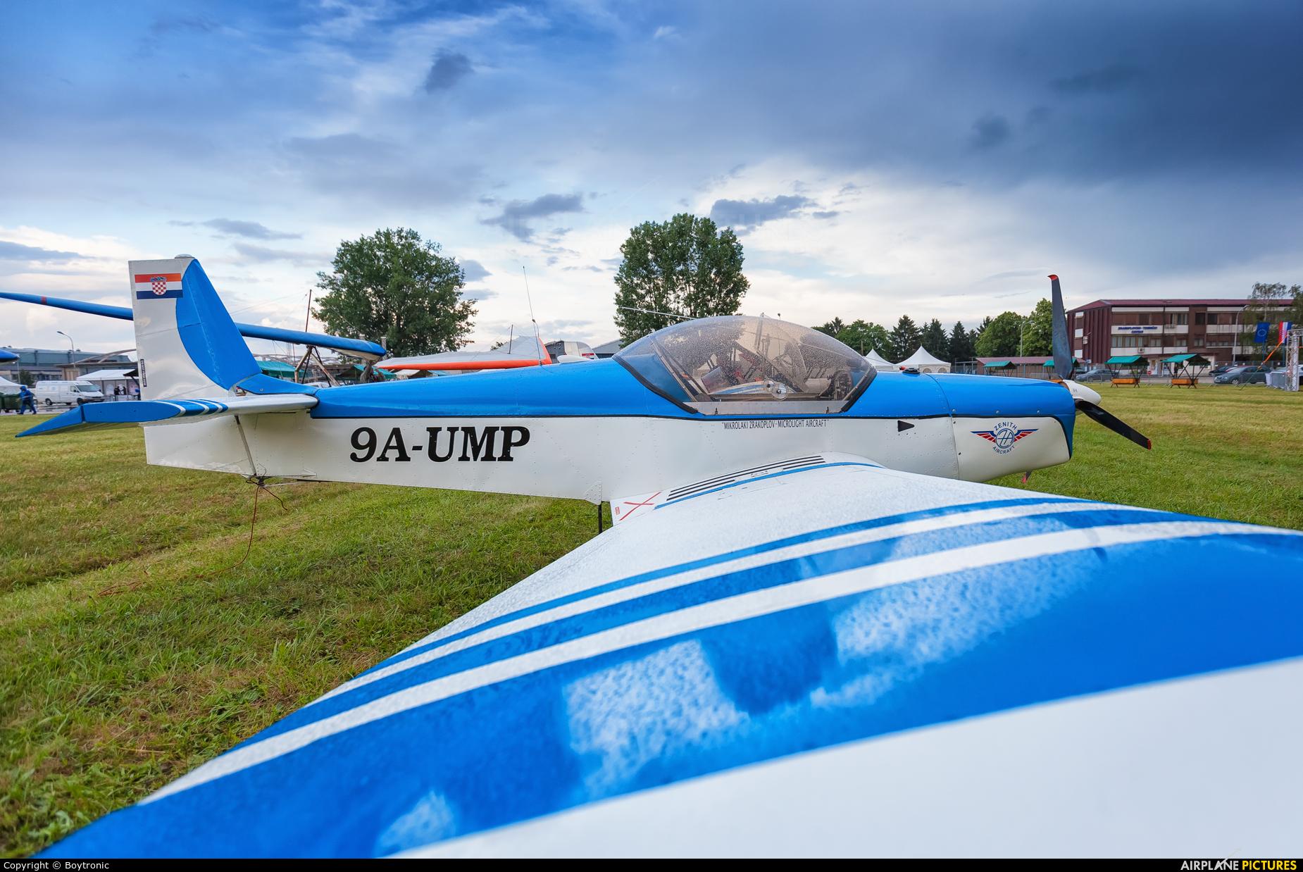 Private 9A-UMP aircraft at Velika Gorica/ZTC