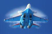 """RF-81706 - Russia - Air Force """"Russian Knights"""" Sukhoi Su-30SM aircraft"""