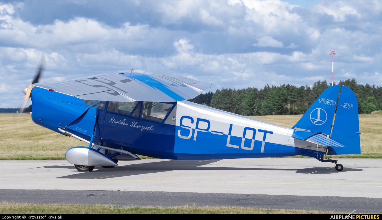 Private SP-LOT aircraft at Świdwin