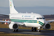 5N-FGT - Nigeria - Air Force Boeing 737-700 BBJ aircraft