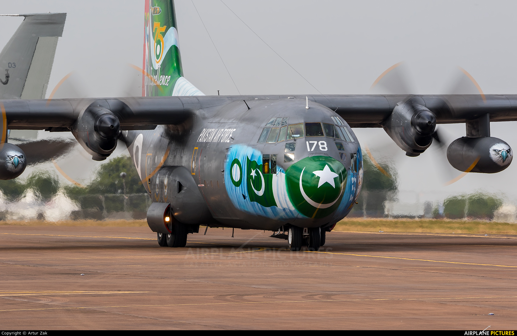 Pakistan - Air Force 4178 aircraft at Fairford