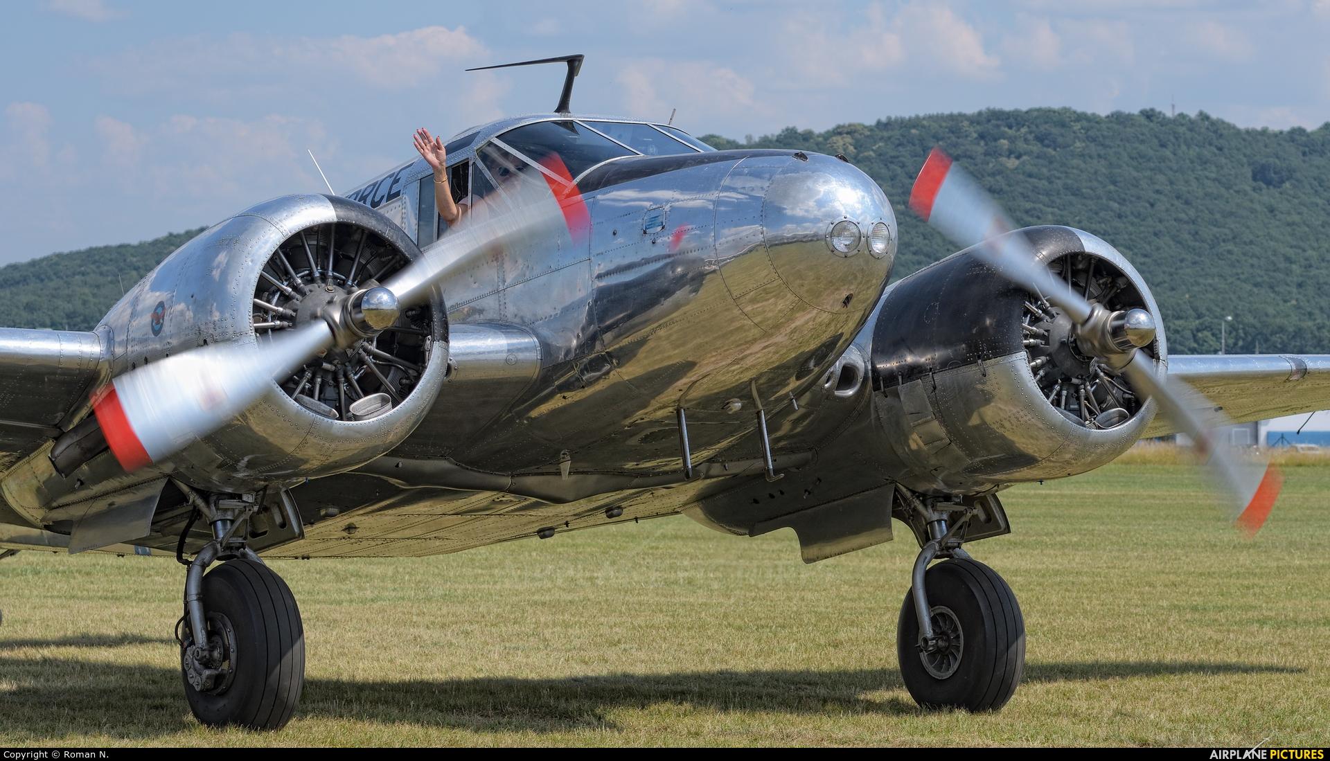 Private OK-BSC aircraft at Mladá Boleslav