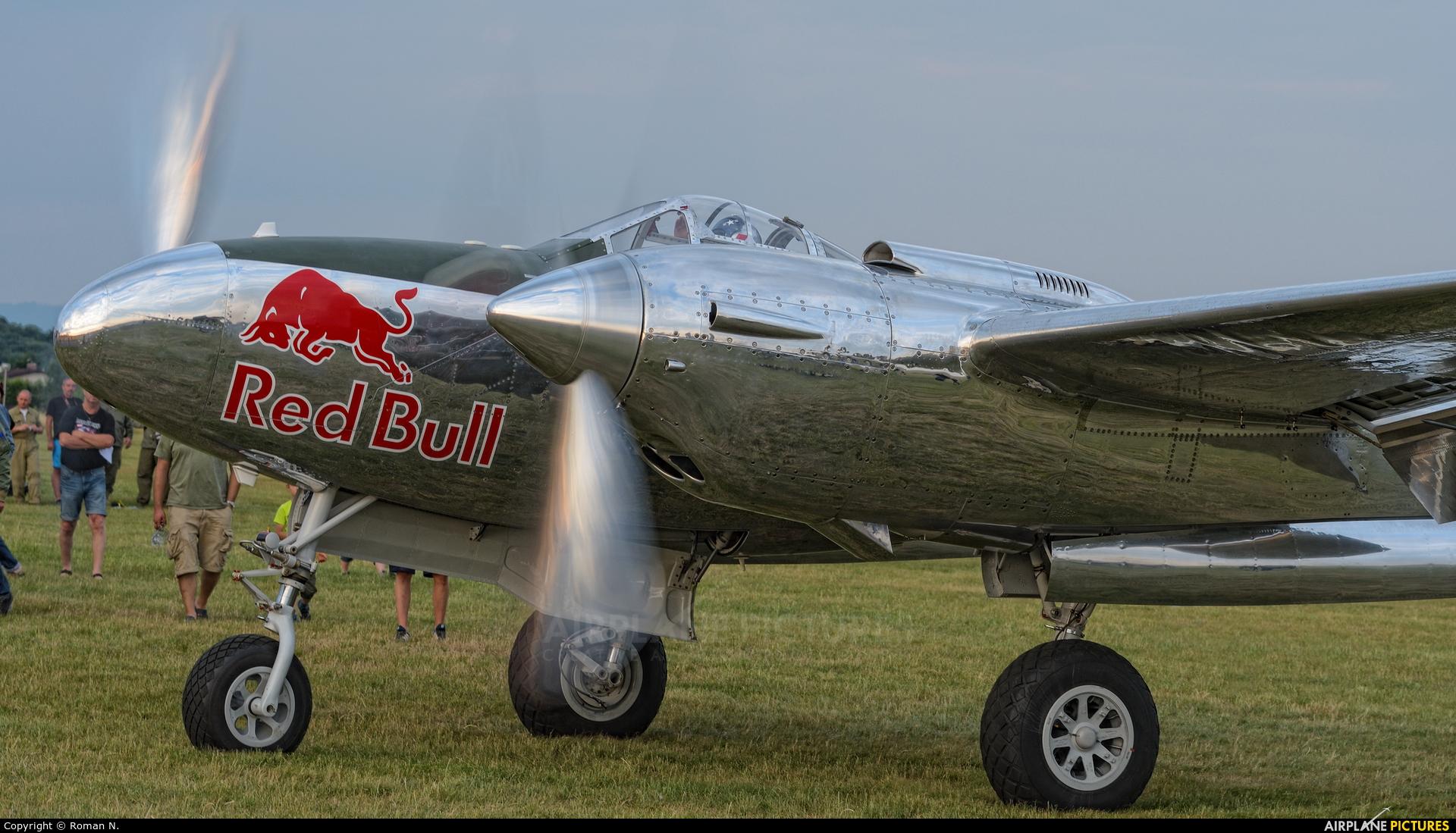 The Flying Bulls N25Y aircraft at Mladá Boleslav