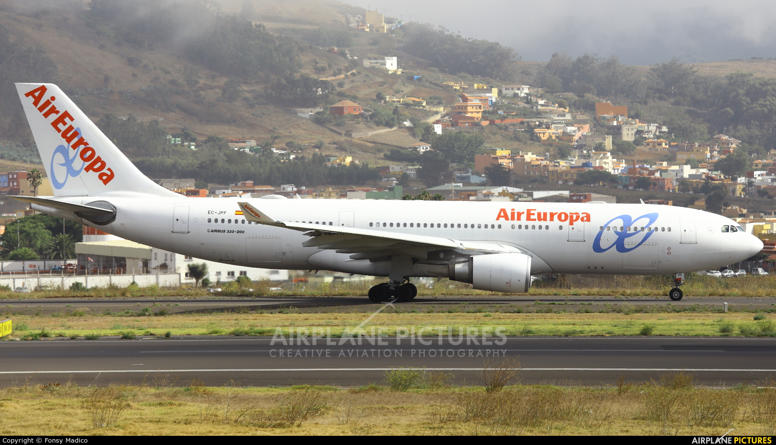 Air Europa EC-JPF aircraft at Tenerife Norte - Los Rodeos