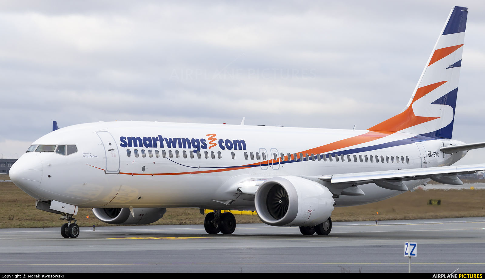 SmartWings OK-SWC aircraft at Warsaw - Frederic Chopin