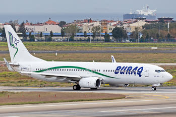 5A-DMG - Buraq Air Boeing 737-800