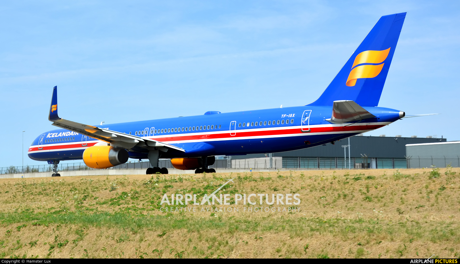 Icelandair TF-ISX aircraft at Amsterdam - Schiphol