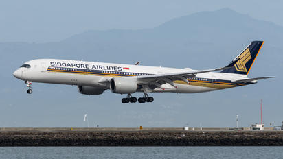 9V-SGF - Singapore Airlines Airbus A350-900