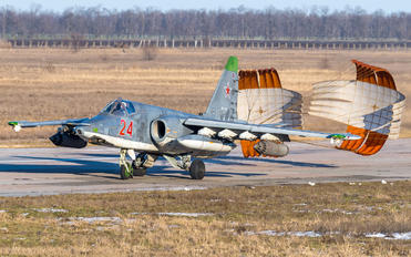 24 - Russia - Air Force Sukhoi Su-25SM