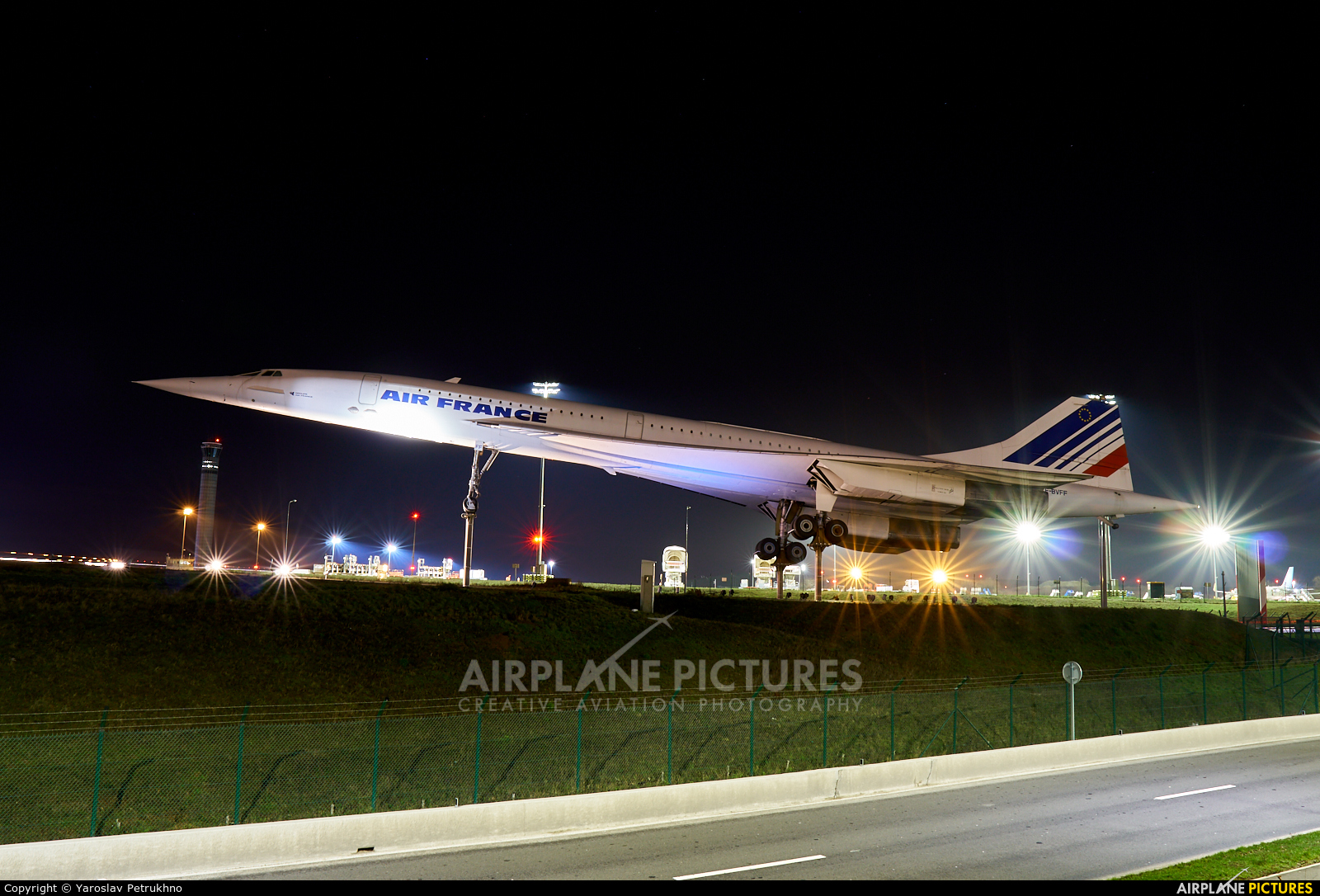Air France F-BVFF aircraft at Paris - Charles de Gaulle