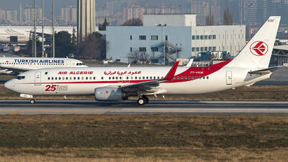 7T-VKM - Air Algerie Boeing 737-8D6
