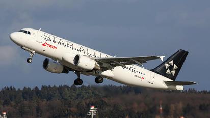 HB-IJN - Swiss Airbus A320