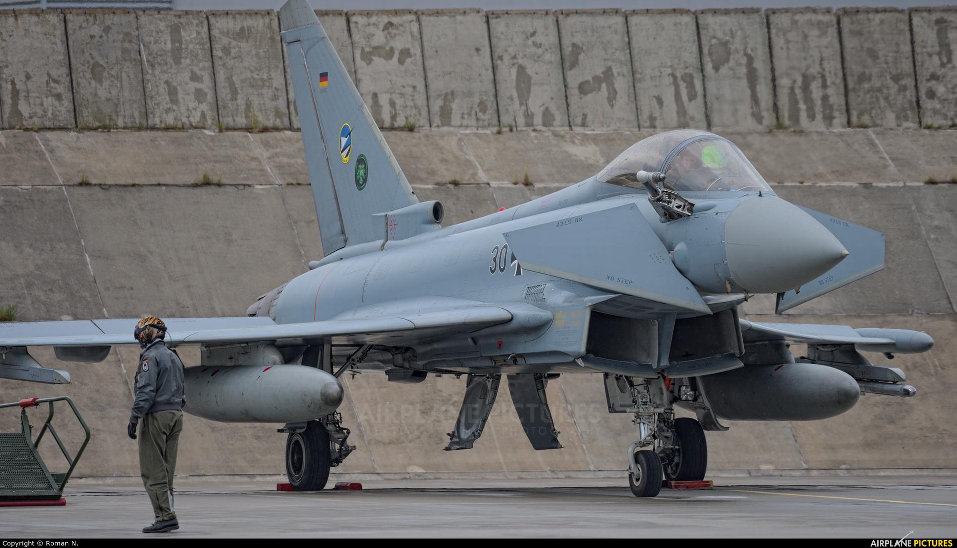 Germany - Air Force 30+53 aircraft at Poznań - Krzesiny