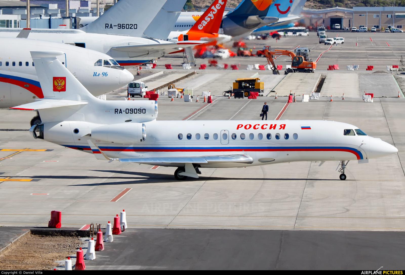 Rossiya Special Flight Detachment RA-09090 aircraft at Tenerife Sur - Reina Sofia