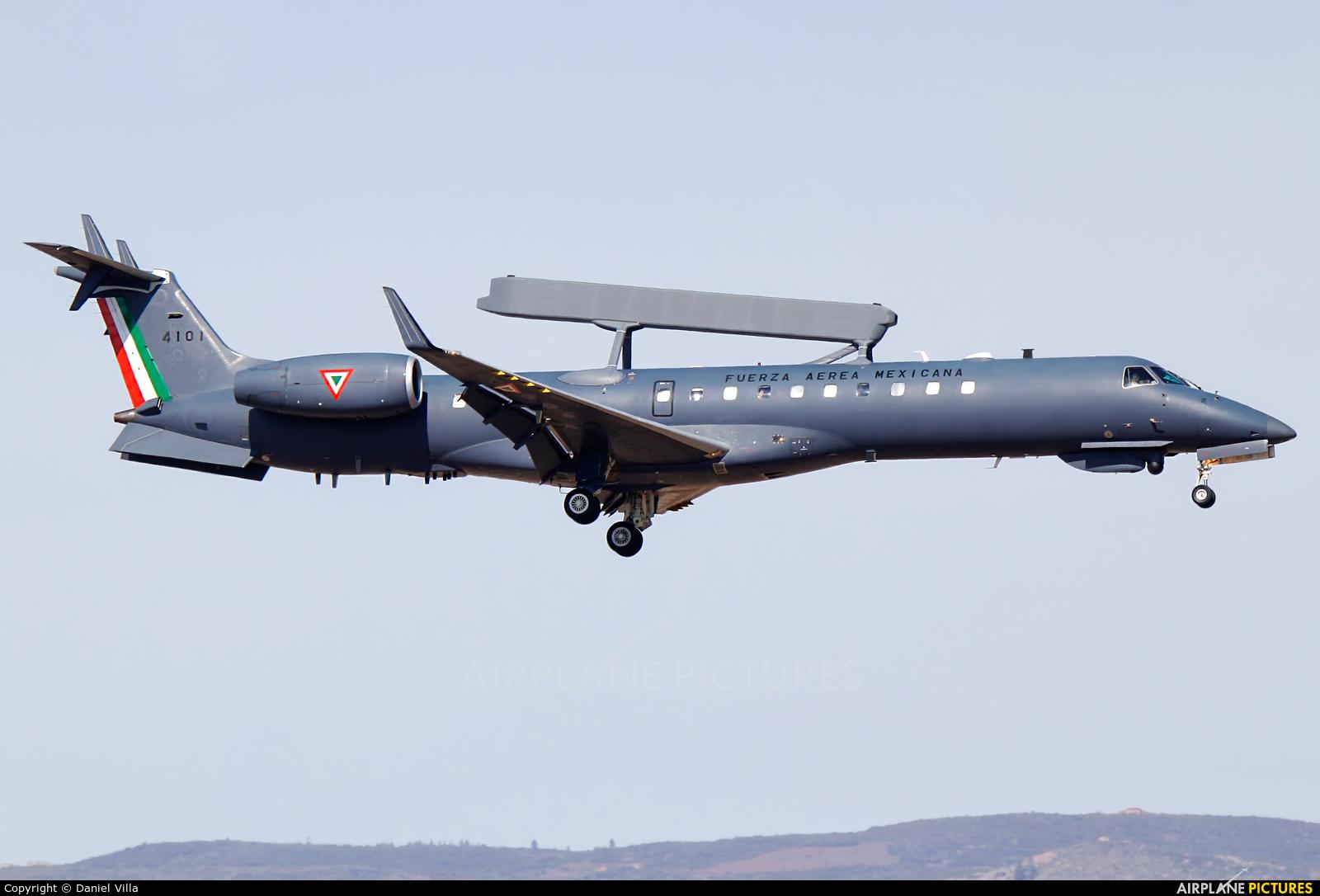 Mexico - Air Force 4101 aircraft at Tenerife Sur - Reina Sofia