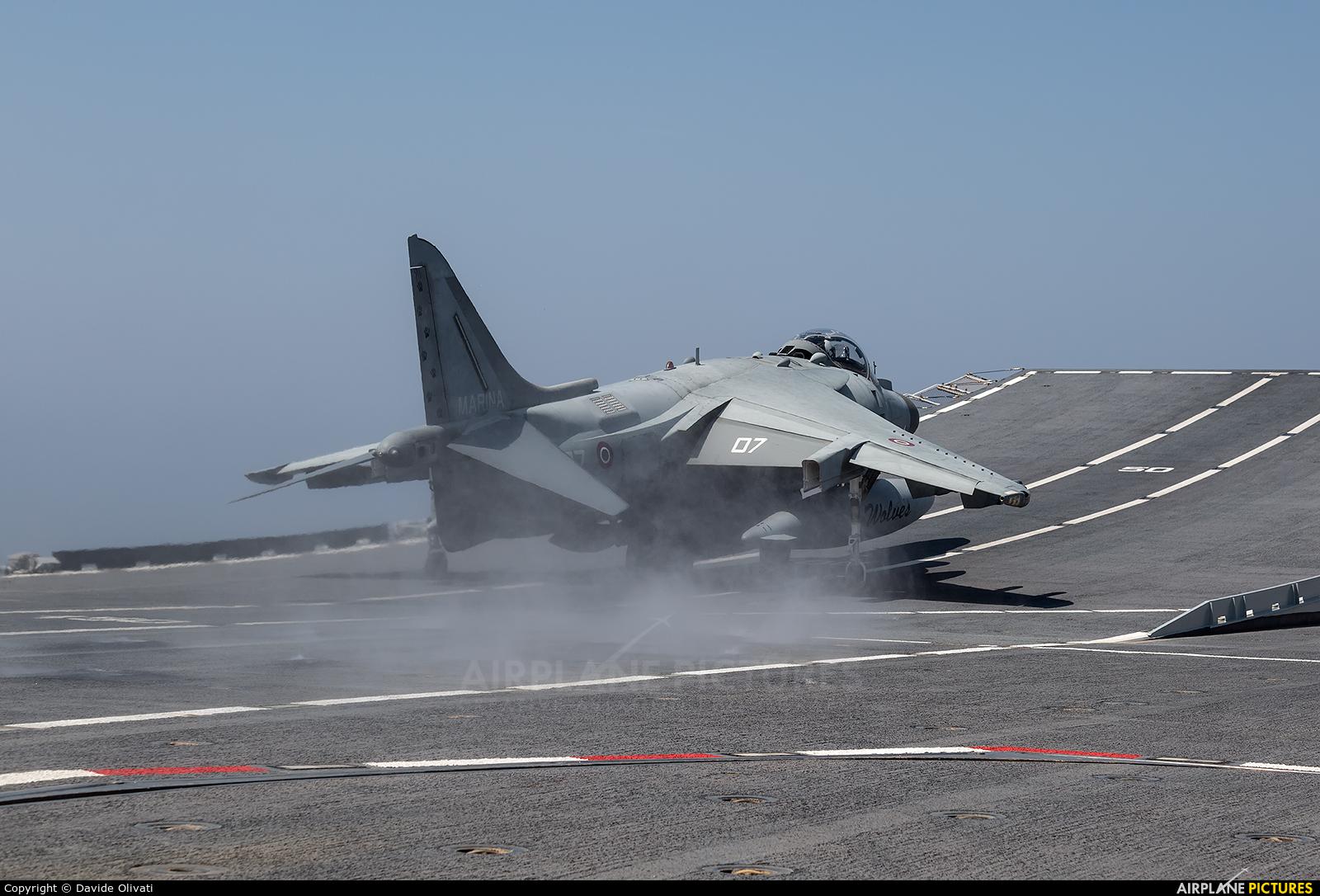 Italy - Navy MM7213 aircraft at Off Airport - Italy