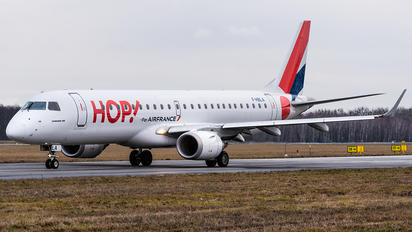F-HBLA - Air France - Hop! Embraer ERJ-190 (190-100)