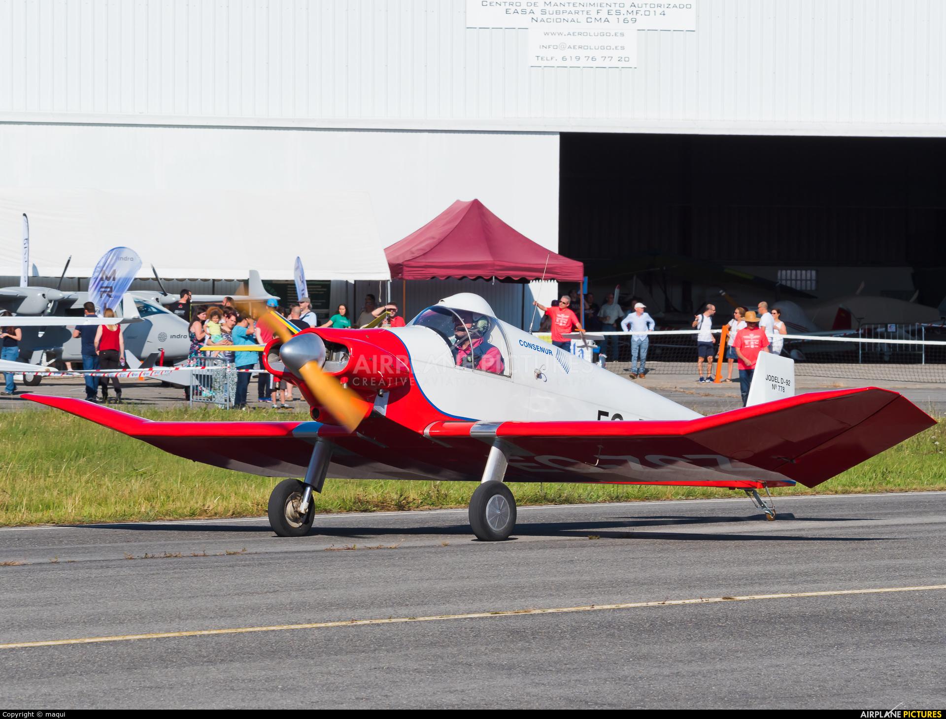 Private EC-ZCZ aircraft at Lugo - Rozas