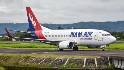 PK-NAM - NAM Air Boeing 737-500
