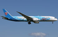 "China Southern Boeing 787 wears ""787th Dreamliner"" sticker title="