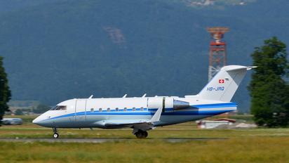 HB-JRQ - Private Canadair CL-600 Challenger 604