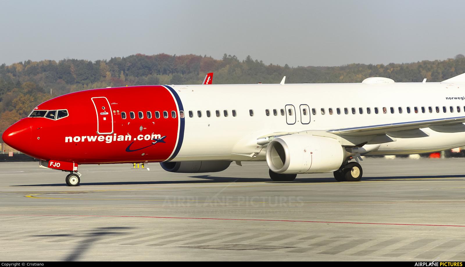 Norwegian Air International EI-FJO aircraft at Kraków - John Paul II Intl