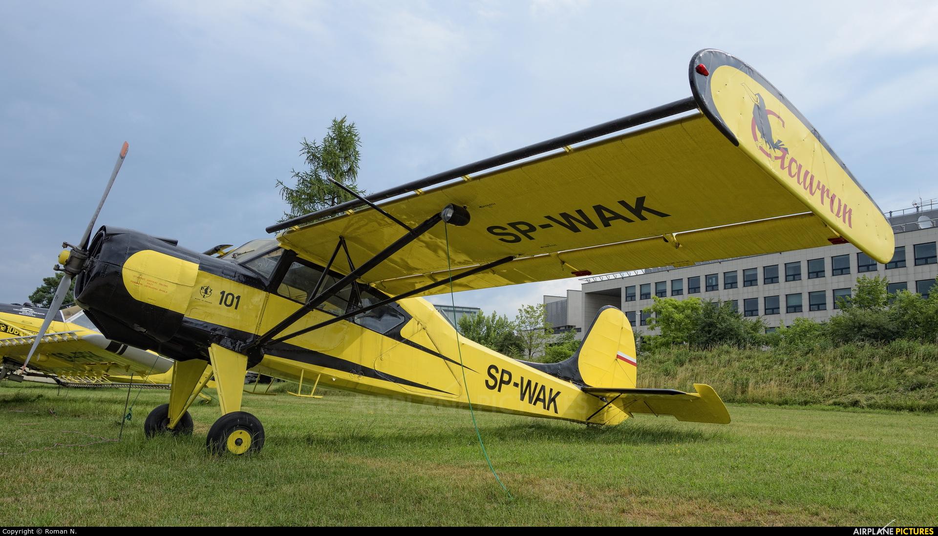 Private SP-WAK aircraft at Kraków, Rakowice Czyżyny - Museum of Polish Aviation