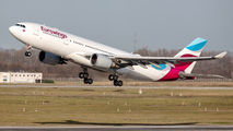 D-AXGB - Eurowings Airbus A330-200 aircraft