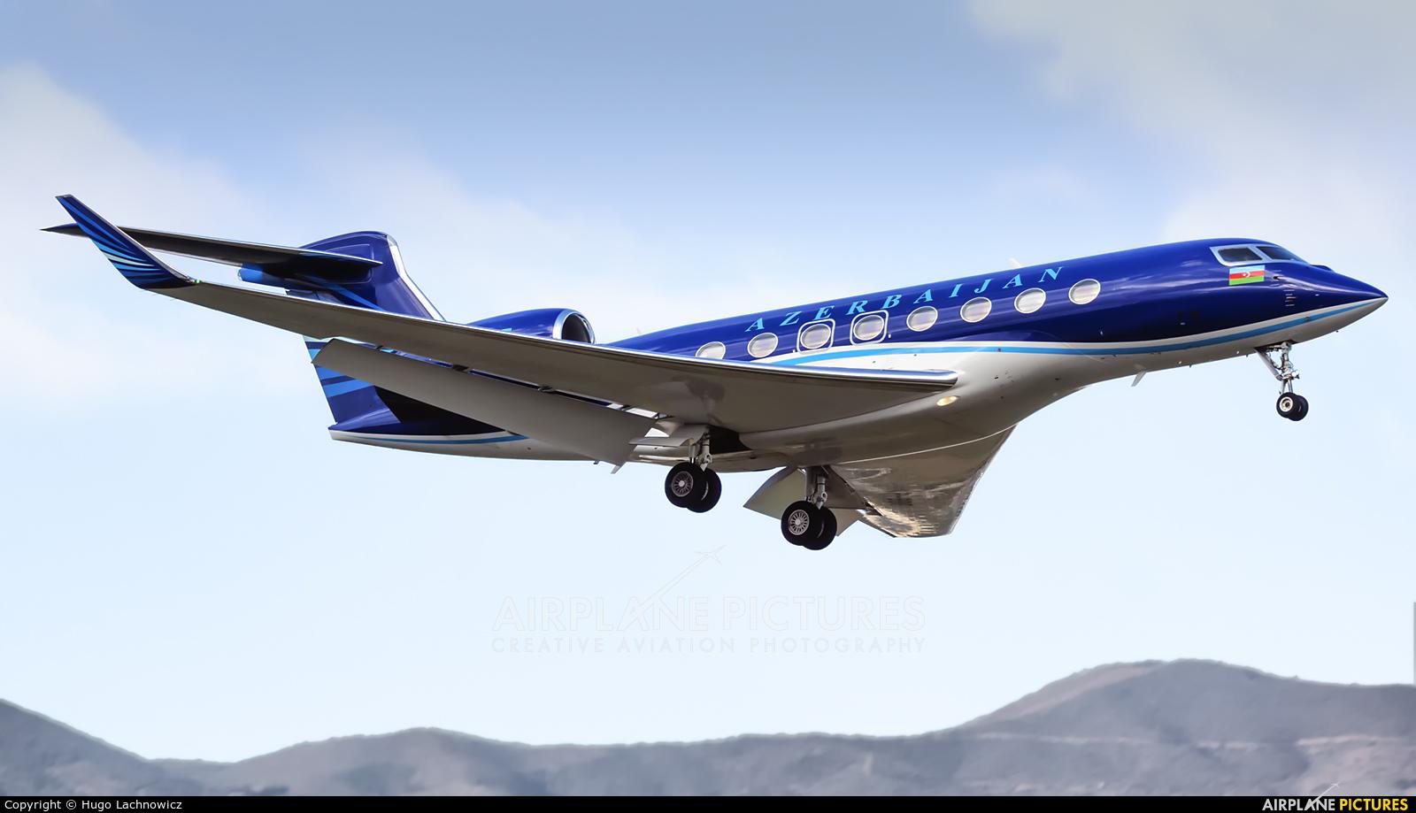 Azerbaijan - Government VP-BBF aircraft at Málaga