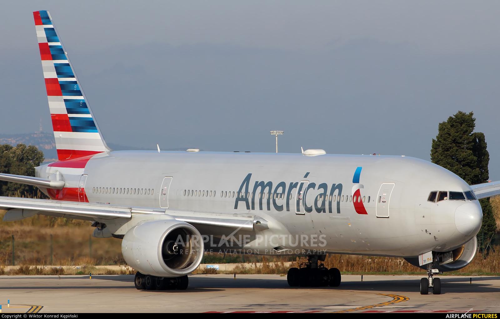 American Airlines N765AN aircraft at Barcelona - El Prat