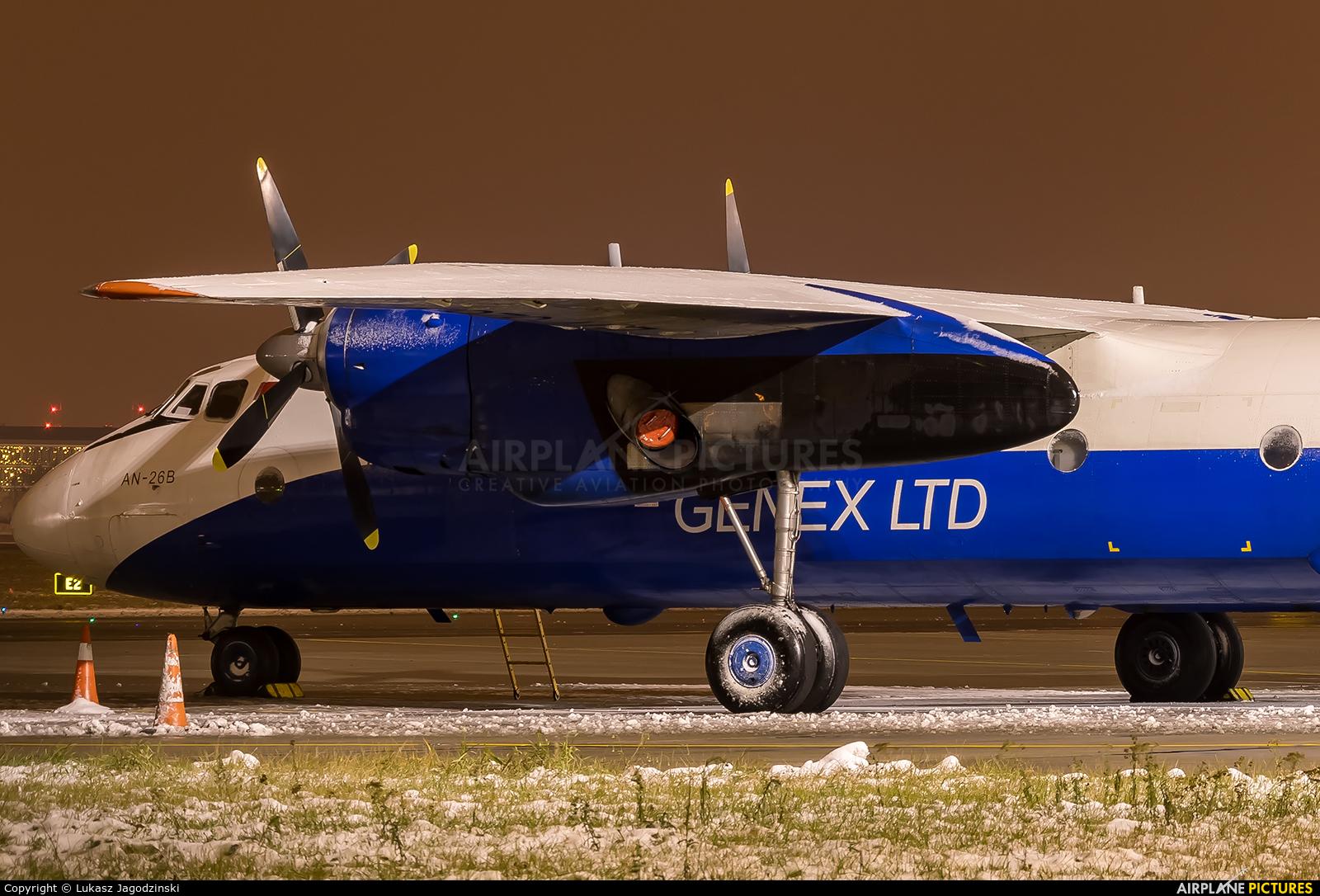Genex EW-328TG aircraft at Warsaw - Frederic Chopin