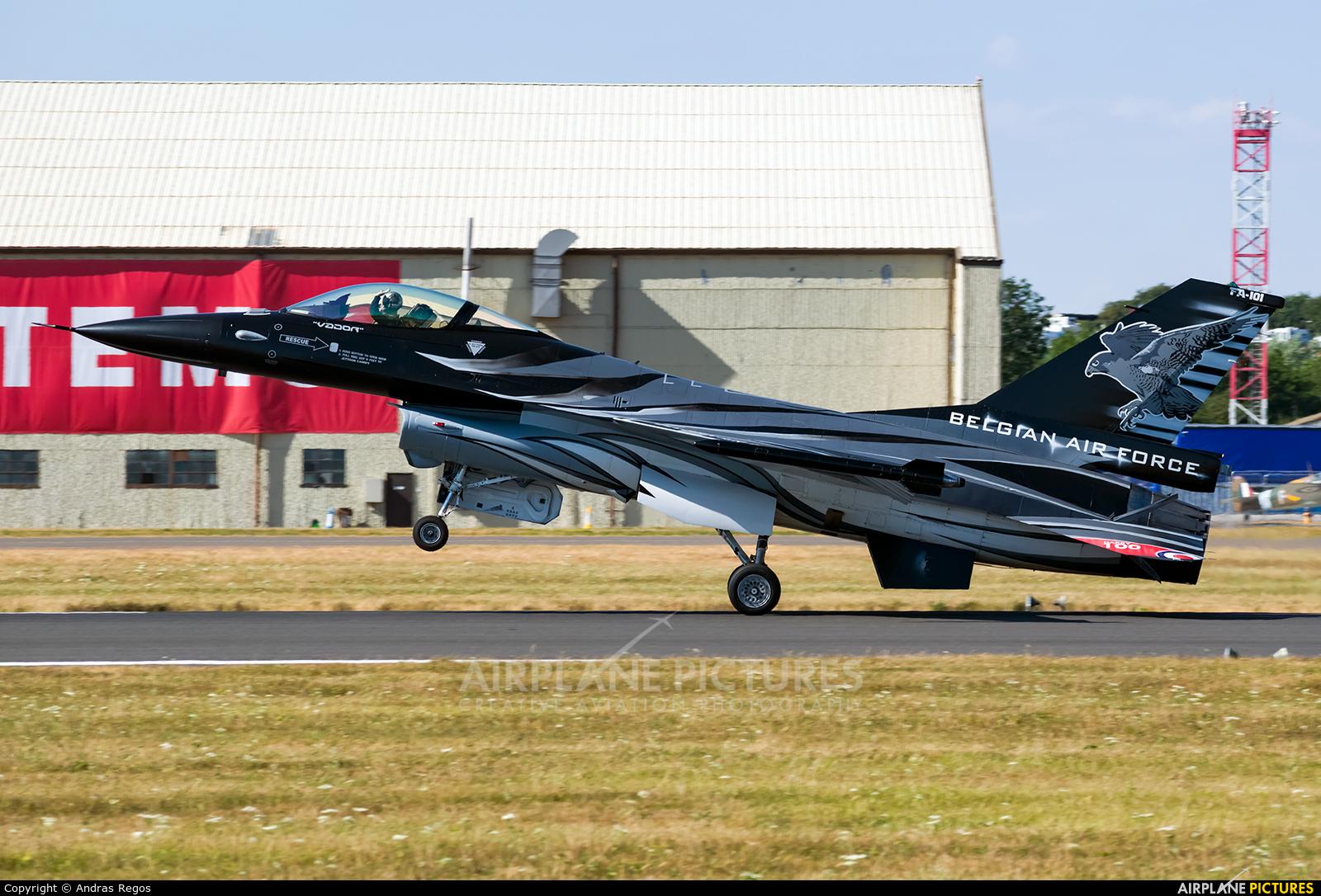 Belgium - Air Force FA-101 aircraft at Fairford