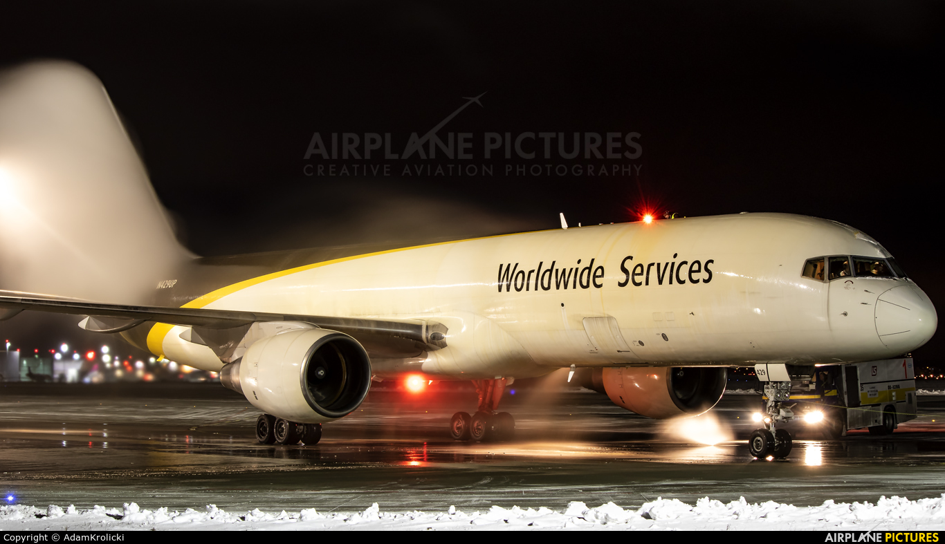 UPS - United Parcel Service N429UP aircraft at Katowice - Pyrzowice
