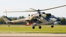 0981 - Czech - Air Force Mil Mi-24V aircraft