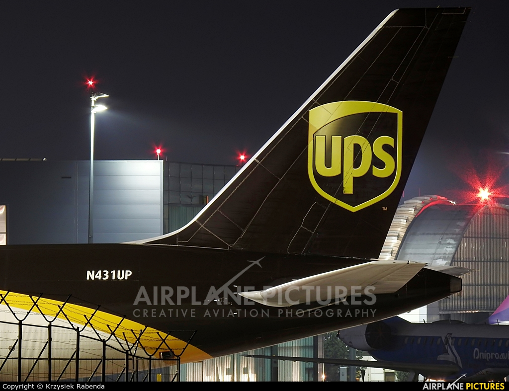 UPS - United Parcel Service N431UP aircraft at Katowice - Pyrzowice