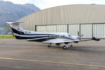 HB-FQA - Private Pilatus PC-12
