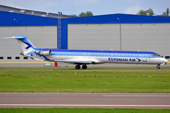 ES-ACC - Estonian Air Canadair CL-600 CRJ-900