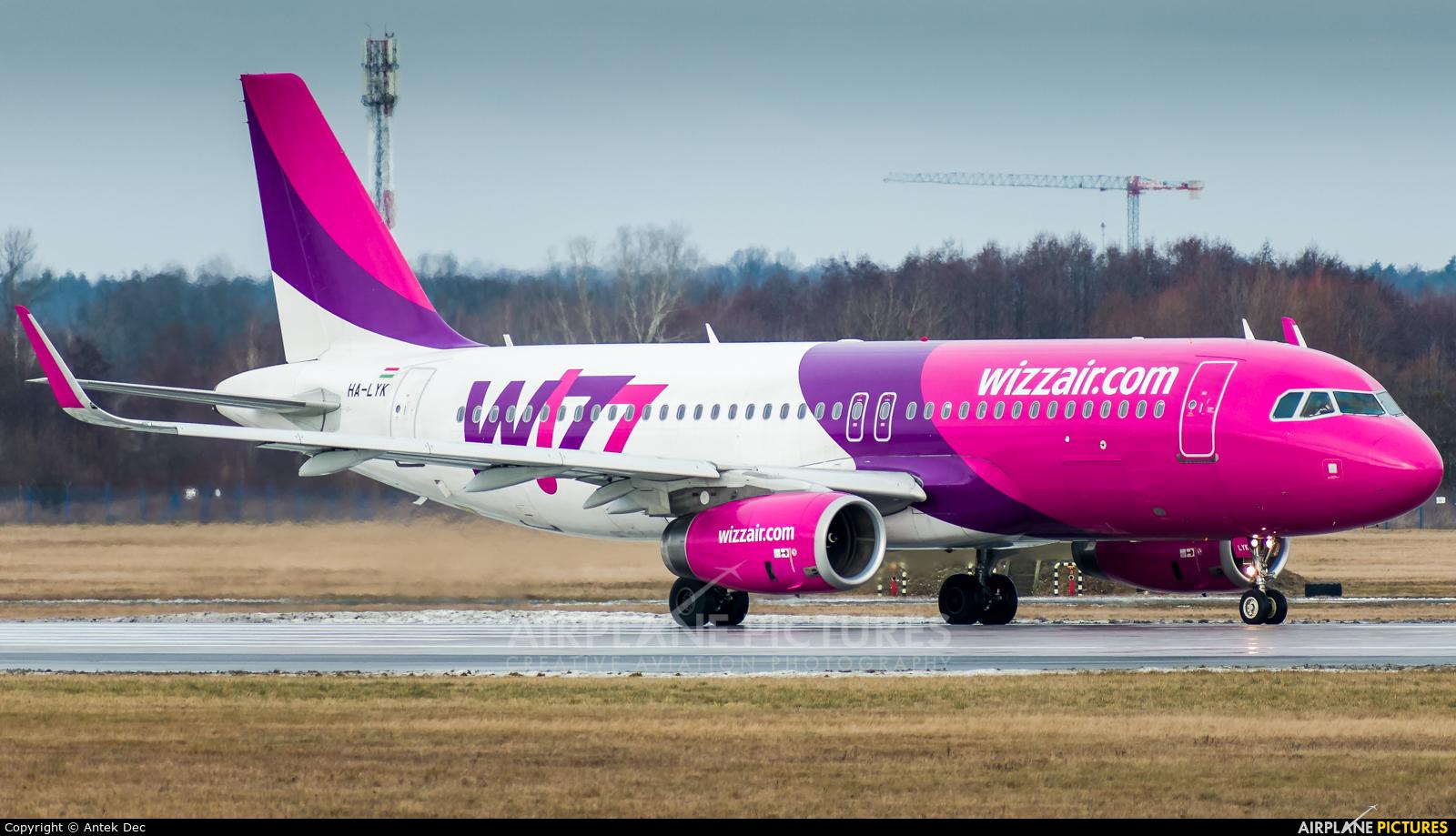 Wizz Air HA-LYK aircraft at Wrocław - Copernicus