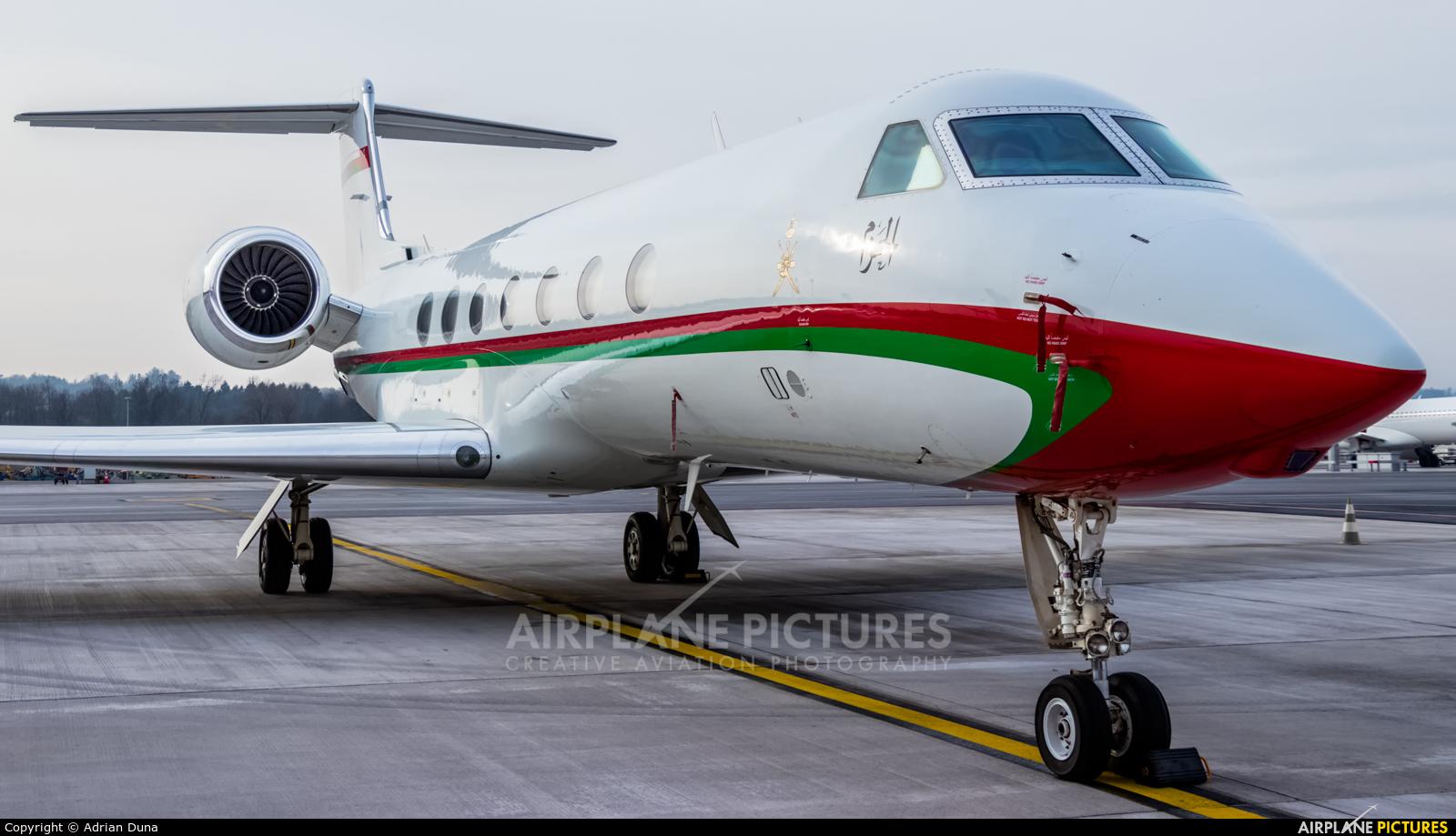 Oman - Royal Flight A4O-AE aircraft at Zurich